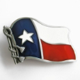 Texas State Flag Belt Buckle