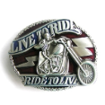 Live To Ride/Ride To Live Belt Buckle (SKU: AT-065)