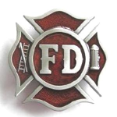 Fire Department Belt Buckle (SKU: OC-030)
