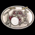 Drum Set Belt Buckle