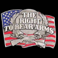 Right to Bear Arms Belt Buckle