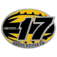 #17 Matt Kenseth Belt Buckle