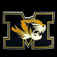 Missouri 'Mizzou' Tigers Belt Buckle