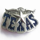 Texas Belt Buckle - Blue