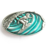 Surfer Belt Buckle