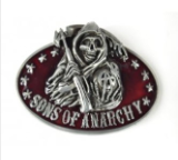 Sons of Anarchy Belt Buckle - Red