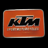 KTM Motorcycle Belt Buckle