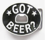 Got Beer Belt Buckle - Oval