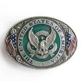 USA Belt Buckle