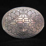 Western Belt Buckle - Antique Design