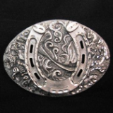 Lucky Horseshoe Belt Buckle