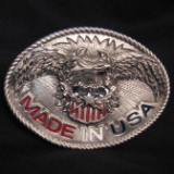 Made in USA Eagle Belt Buckle
