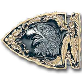 Eagle Gold Vivatone Belt Buckle