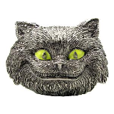 Licensed Disney 3D Cheshire Cat Belt Buckle Glow in the Dark