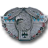 Thunderbird Totem Belt Buckle