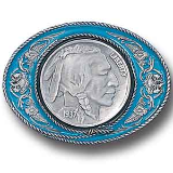 Indian Head Nickel Belt Buckle