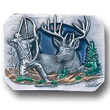 Bowhunter Belt Buckle