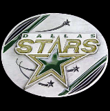 Dallas Stars NHL Belt Buckle