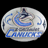 Vancouver Canucks NHL Belt Buckle