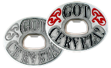Got Cerveza? Belt Buckle