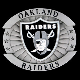 Oakland Raiders Oversized NFL Belt Buckle