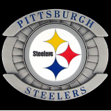 Pittsburgh Steelers Oversized NFL Belt Buckle