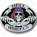 Hell on Wheels - Oversized Belt Buckle