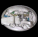 Long Haul Trucker Belt Buckle