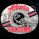 Atlanta Falcons NFL Belt Buckle