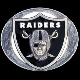 Oakland Raiders NFL Belt Buckle