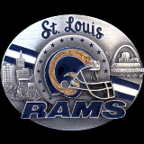 St. Louis Rams NFL Belt Buckle