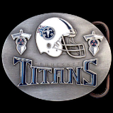 Tennessee Titans NFL Belt Buckle