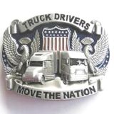 Truck Drivers Move the Nation Belt Buckle