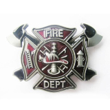 Fire Department Belt Buckle