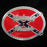 Redneck Woman Oval Belt Buckle