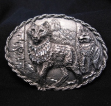 Wolfpack Belt Buckle
