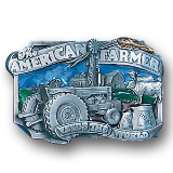 American Farmer Belt Buckle