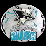 San Jose Sharks NHL Belt Buckle