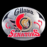 Ottawa Senators NHL Belt Buckle