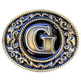 "Monograms™ ""G"" Belt Buckle"