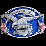 If Guns Are Outlawed...Belt Buckle
