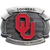Oklahoma Sooners Oversized Belt Buckle