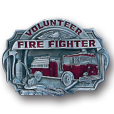 Volunteer Fire Fighter Belt Buckle