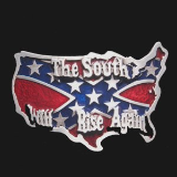 The South Will Rise Again Belt Buckle