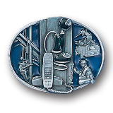 Telephone Worker Belt Buckle