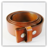 Classic Tan Genuine Leather Belt
