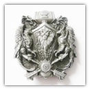 Double Dragon Belt Buckle