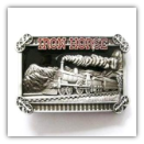 Iron Horse Belt Buckle