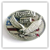 American Pride Belt Buckle
