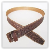 Tan Genuine Leather Handcraft